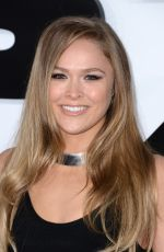 RONDA ROUSEY at Furious 7 Premiere in Hollywood