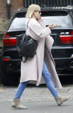 ROSAMUND PIKE Out and About in London 04/27/2015