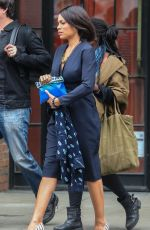 ROSARIO DAWSON Leaves Her Hotel in New York 04/15/2015