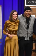 ROSE BYRNE at Tonight Show with Jimmy Fallon in New York 04/20/2015