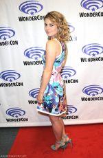 ROSE MCIVER at iZombie Press Line at Wondercon in Anaheim