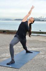 ROSELYN SANCHEZ at Finds Her Park at Golden Gate National Recreation Area in San Francisco