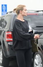 ROSIE HUNTINGTON-WHITELEY Leaves a Gym in West Hollywood 04/24/2015