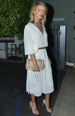 ROSIE HUNTINGTON-WHITELEY Leaves Giorgio Baldi in Santa Monica 04/18/2015