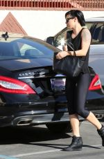 RUMER WILLIS Arrives at Dancing with the Stars Rehearsals in Hollywood