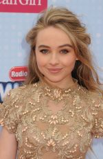 SABRINA CARPENTER at 2015 Radio Disney Music Awards in Los Angeles