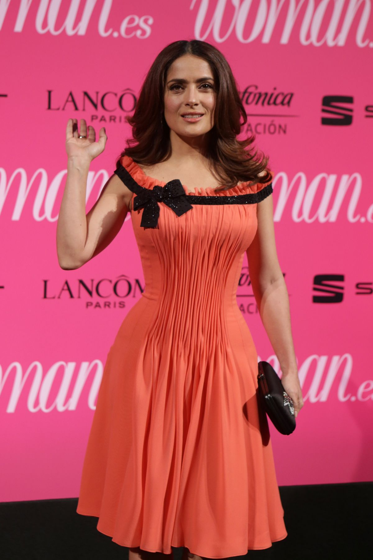 SALMA HAYEK at Woman Magazine Awards in Madrid