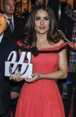 SALMA HAYEK at Woman Magazine Awards in Madrid