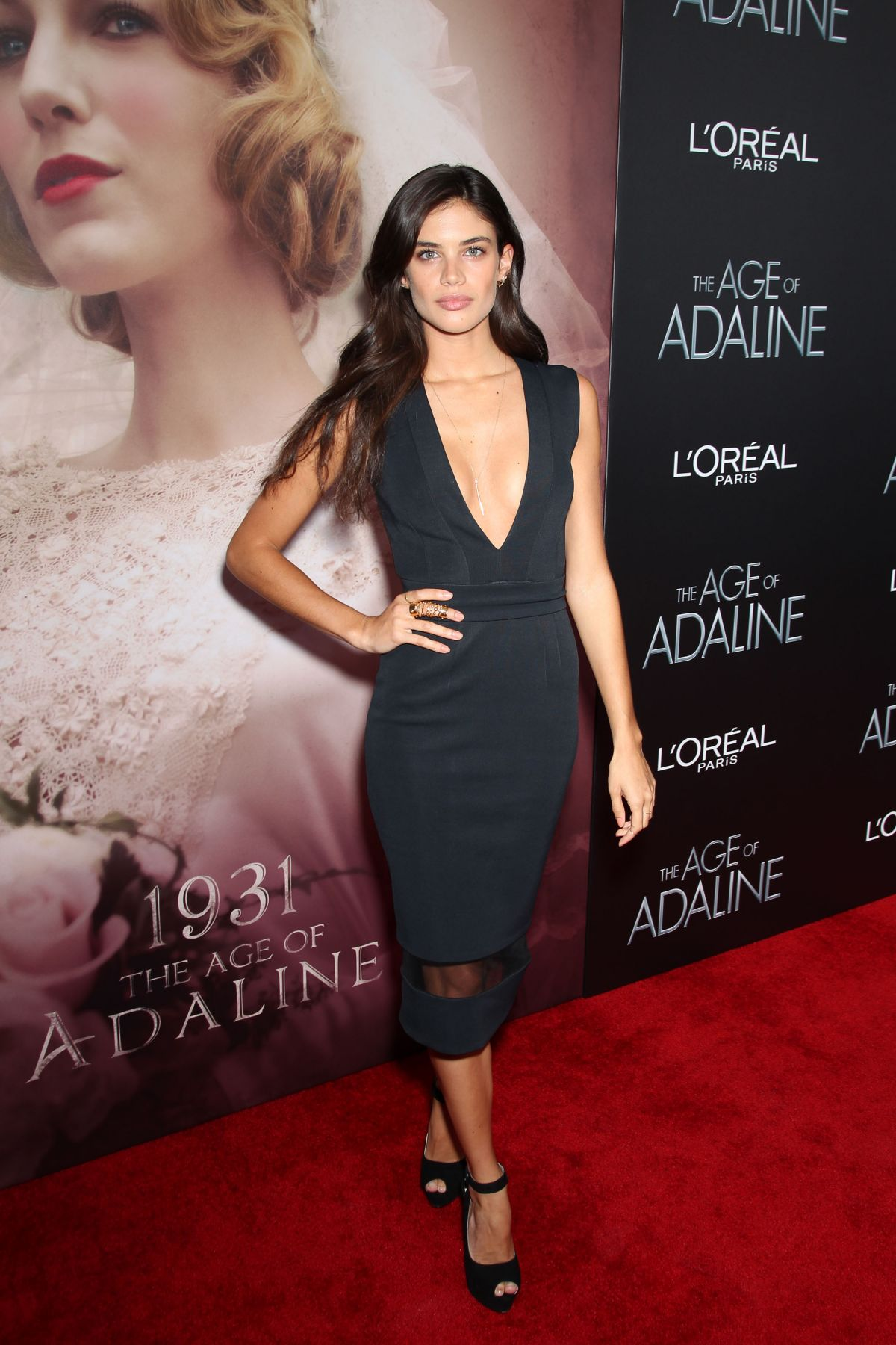 SARA SAMPAIO at The Age of Adaline Premiere in New York