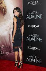 SARA SAMPAIO at The Age of Adaline Premiere in New York