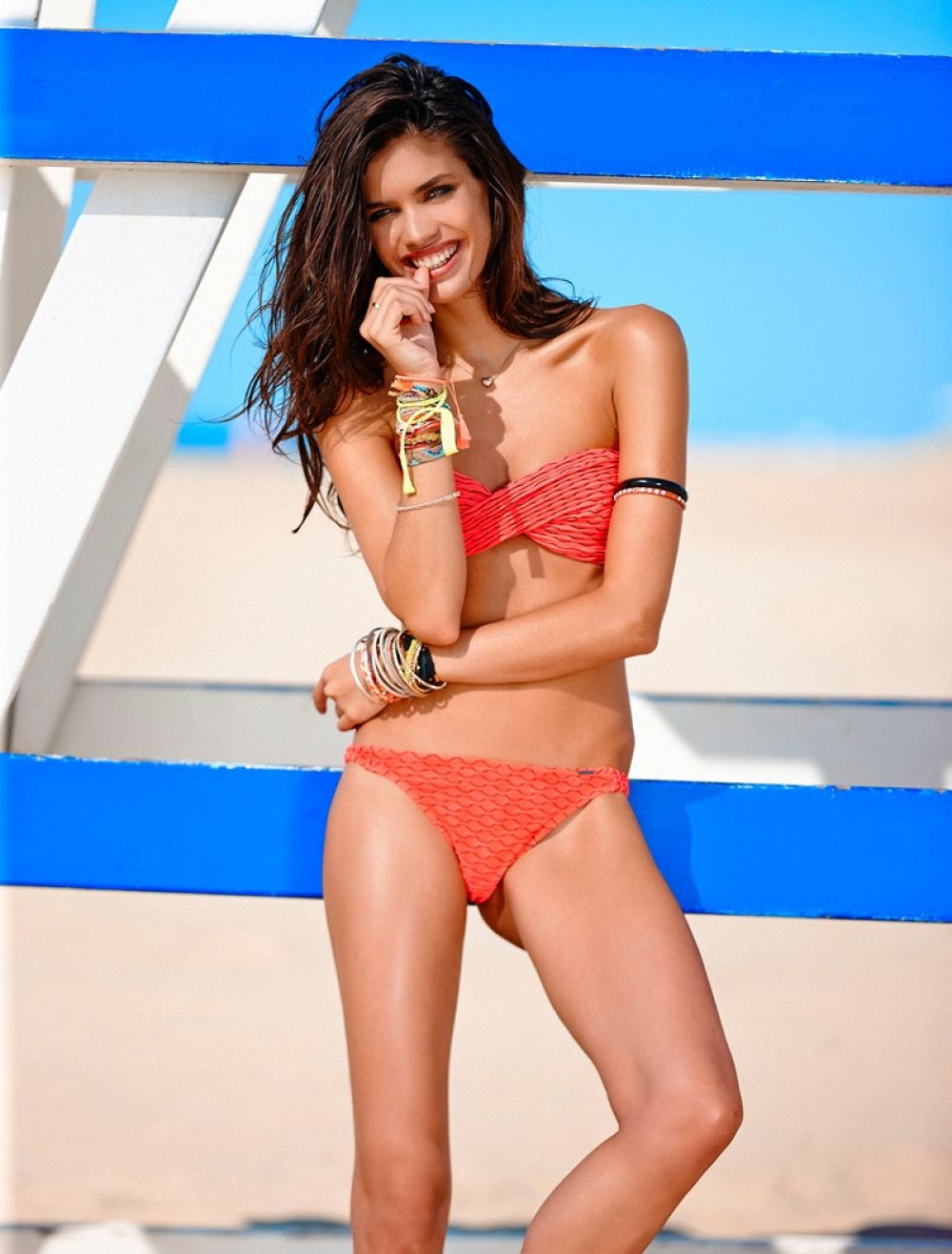 SARA SAMPAIO - Manana Moon 2015 Swimsuit Promos