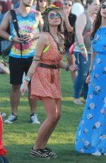 SARAH HYLAND at 2015 Coachella Music Festival, Day 2