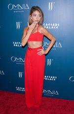 SARAH HYLAND at Omnia Nightclub Grand Opening Weekend in Las Vegas