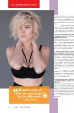 SARAH JONES in Cliche Magazime, April/May 2015 Issue