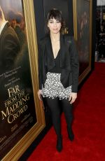 SARAH SILVERMAN at Far from the Madding Crowd Screening in New York