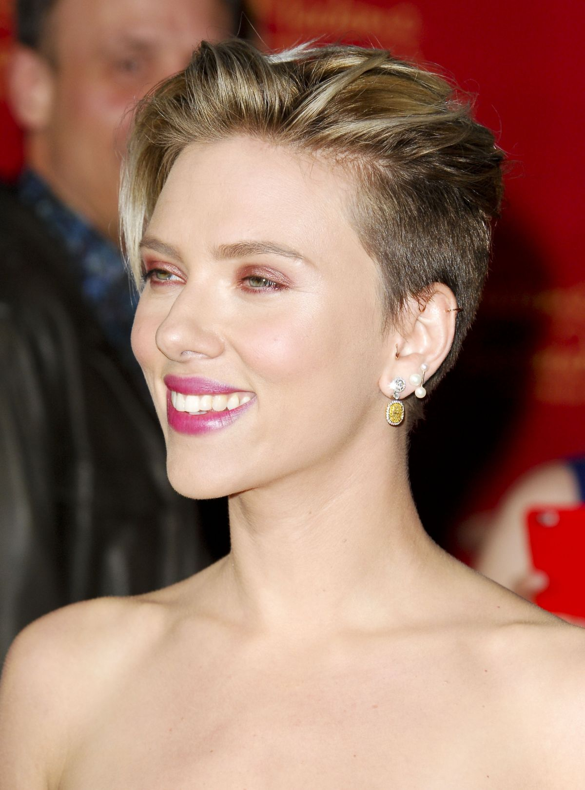 SCARLETT JOHANSSON at Avengers: Age of Ultron Premiere in Hollywood ...