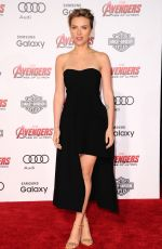 SCARLETT JOHANSSON at Avengers: Age of Ultron Premiere in Hollywood