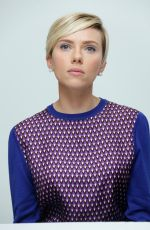 SCARLETT JOHANSSON at Avengers: Age of Ultron Press Conference in Burbank