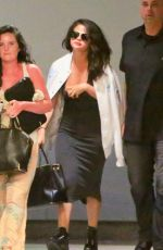 SELENA GOMEZ at LAX Airport in Los Angeles 04/19/2015