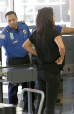 SELENA GOMEZ at Los Angeles International Airport 04/28/2015