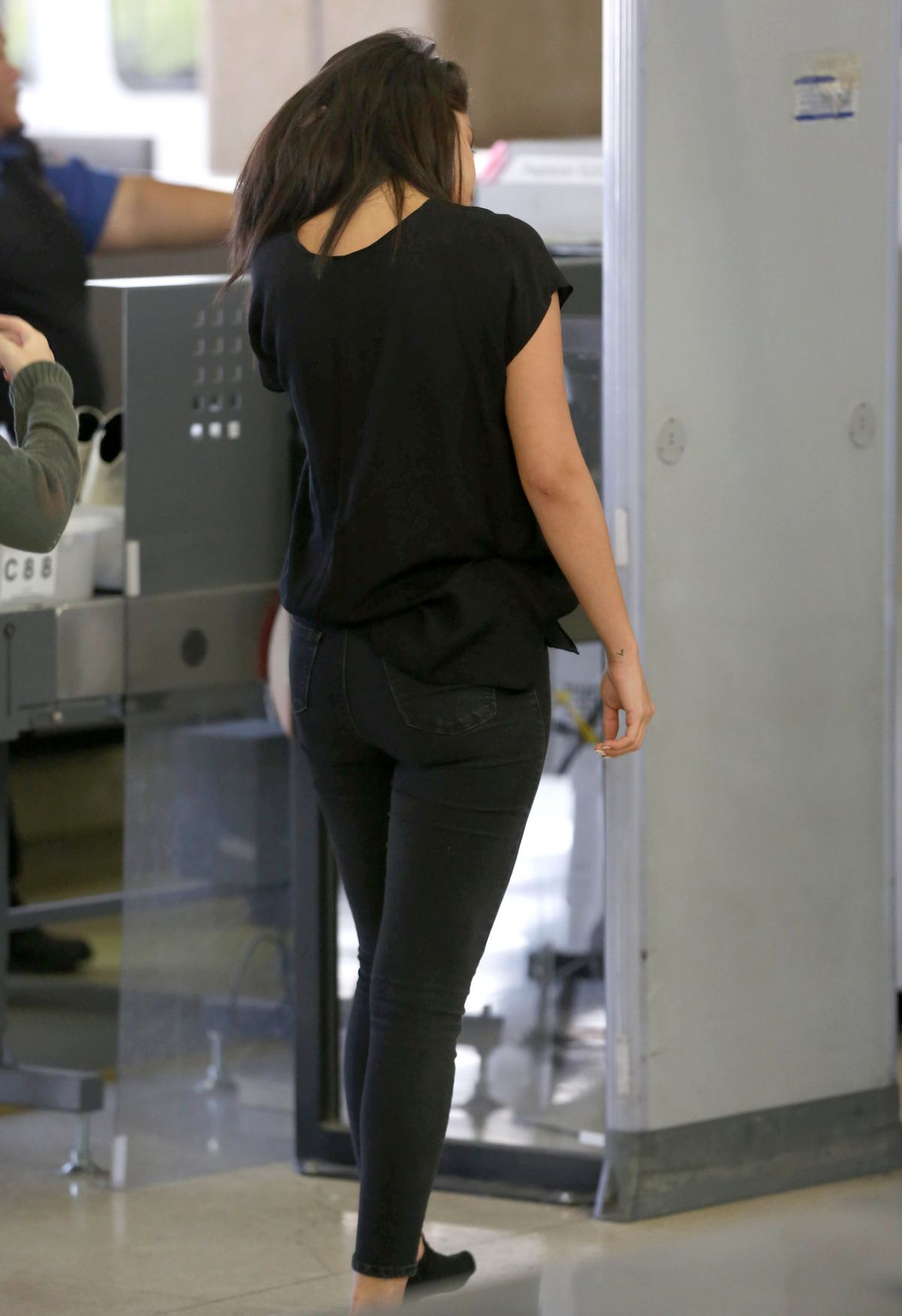 Shoes Selena Gomez Socks Airport