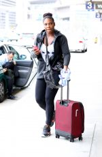 SERENA WILLIAMS Out and About in Los Angeles
