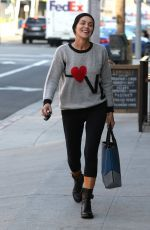 SHARON STONE Out and About in Beverly Hills 04/20/2015