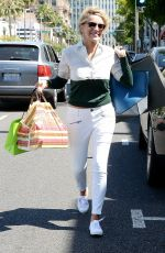 SHARON STONE Out for Lunch in Beverly Hills