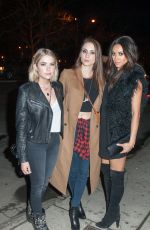 SHAY MITCHELL, ASHLEY BENSON and TROIAN BELLISARIO Out for Shay