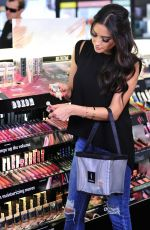 SHAY MITCHELL Shopping at Sephora in Los Angeles