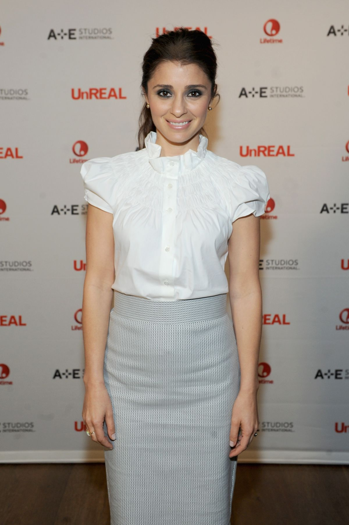 SHIRI APPLEBY at Unreal International Press Event in New York