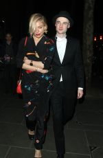 SIENNA MILLER at American Buffalo Press Night in London