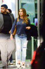 SOFIA VERGARA at Airport in Miami 04/19/2015