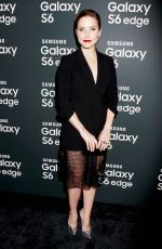 SOPHIA BUSH at Samsung Galaxy S6 and Galaxy S6 Edge Launch in New York