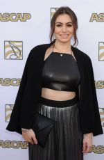 SOPHIE SIMMONS at 2015 Ascap Pop Music Awards in Los Angeles