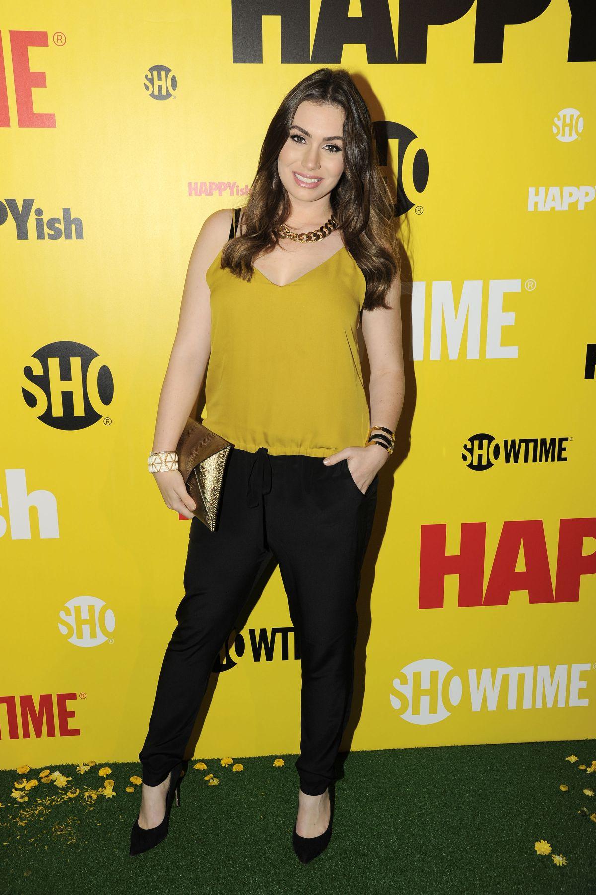 SOPHIE SIMMONS at Happyish Series Premiere in New York