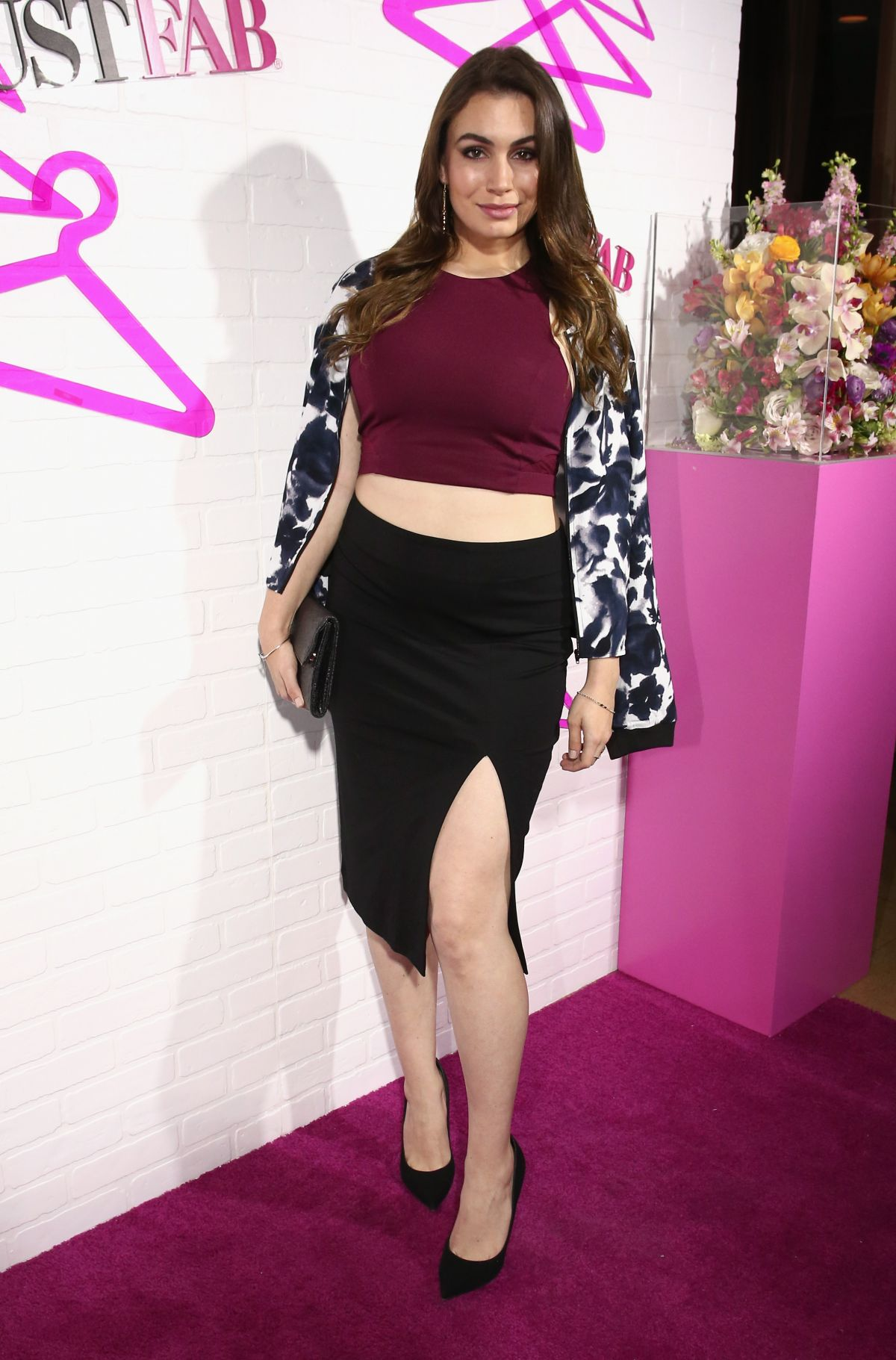 SOPHIE SIMMONS at Justfab Ready-to-wear Launch Party in West Hollywood