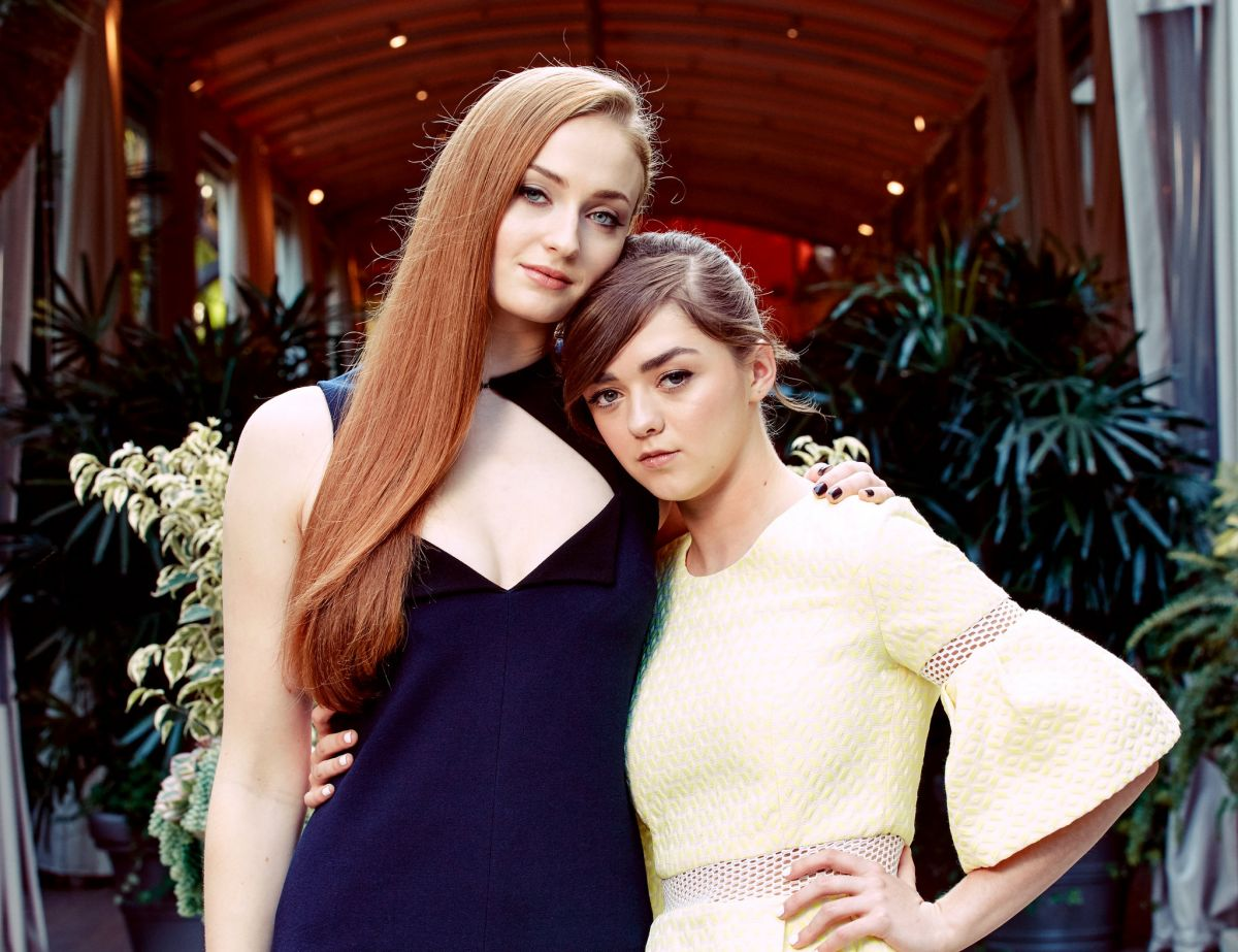 SOPHIE TURNER and MAISIE WILLIAMS - The New York Times Photoshoot - march 2015