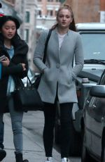 SOPHIE TURNER Out and About in Montreal 04/23/2015