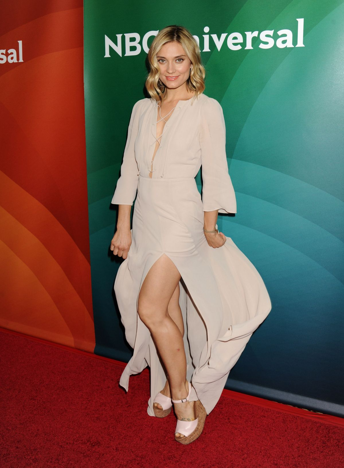SPENCER GRAMMER at 2015 NBCUniversal Summer Press Day in Pasadena