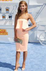 STEFANIE SCOTT at 2015 MTV Movie Awards in Los Angeles