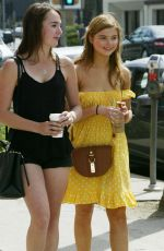 STEFANIE SCOTT Shopping at Farmers Market in Hollywood