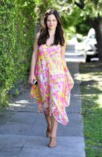 TAMMIN SURSOK Out and About in Los Angeles 04/27/2015