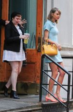 TAYLOR SWIFT and LENA DUNHAM Out and About in New York