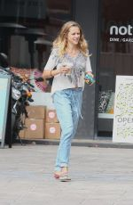 TERESA PALMER Out for Breakfast in Hollywood 04/20/2015