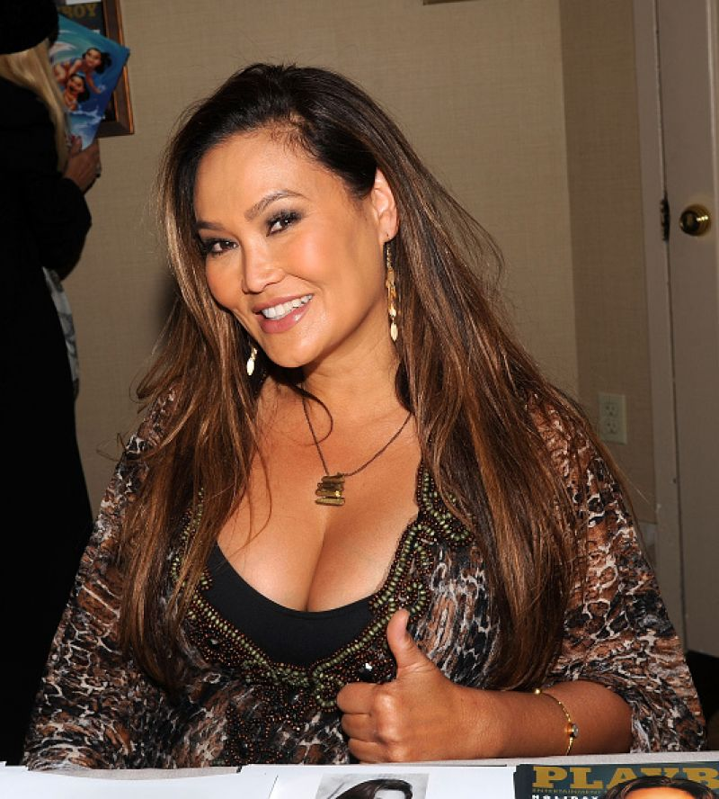 TIA CARRERE at Chiller Theater Expo in Parsippany