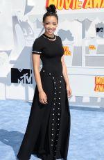 TINASHE at 2015 MTV Movie Awards in Los Angeles