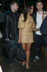 TINASHE Leaves Karl Lagerfeld's Cruise with Karl Boat Party in New York