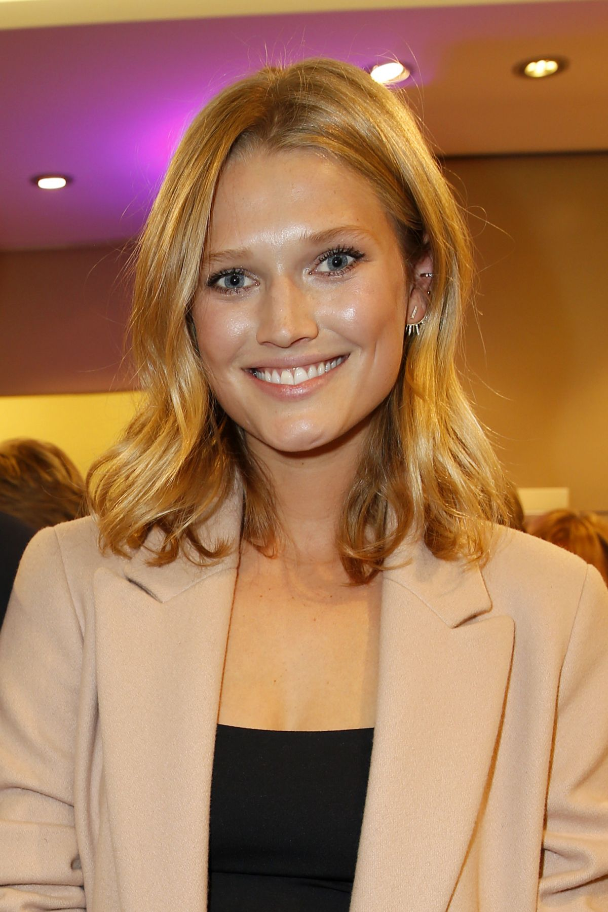TONI GARRN at Aigner Celebrates 50 Years in Aigner Shop in Munich