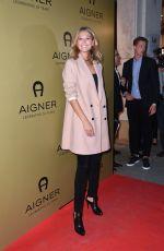 TONI GARRN at Aigner Celebrates 50 Years in Aigner Shop in Munich